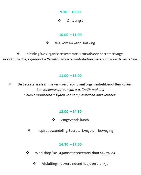 Programma DvdS 15 maart 2019 CONCEPT